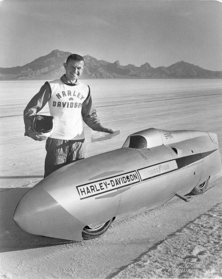 George Roeder and the Harley Sprint: 177 225MPH - Moto Italia