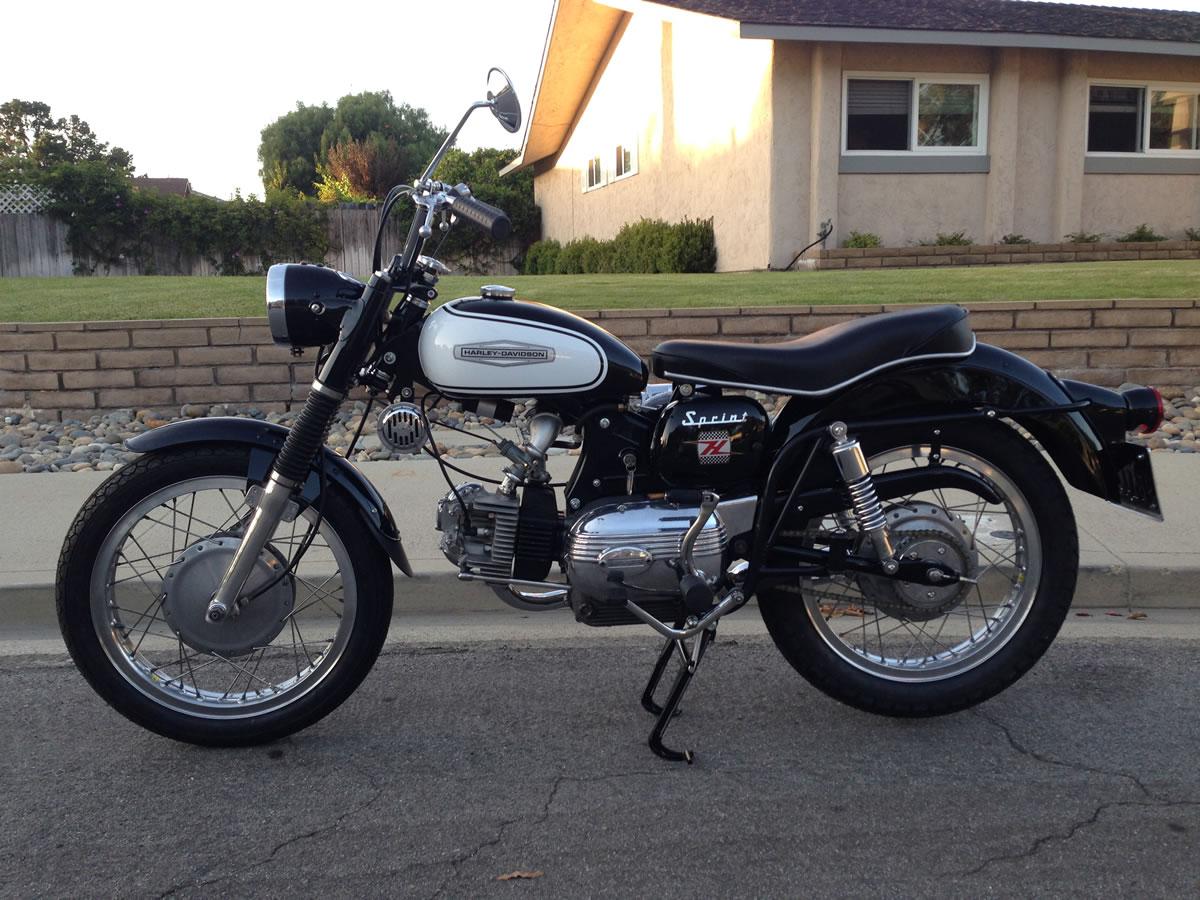 1964 Aermacchi Harley-Davidson Sprint 250 H - Moto Italia