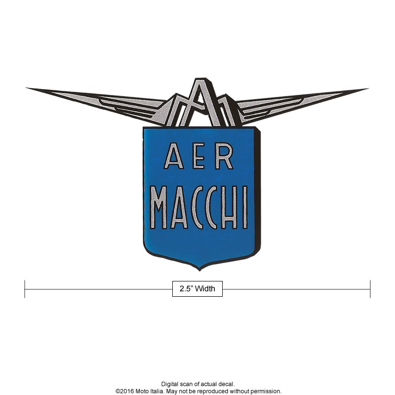 Aermacchi European blue & silver shield